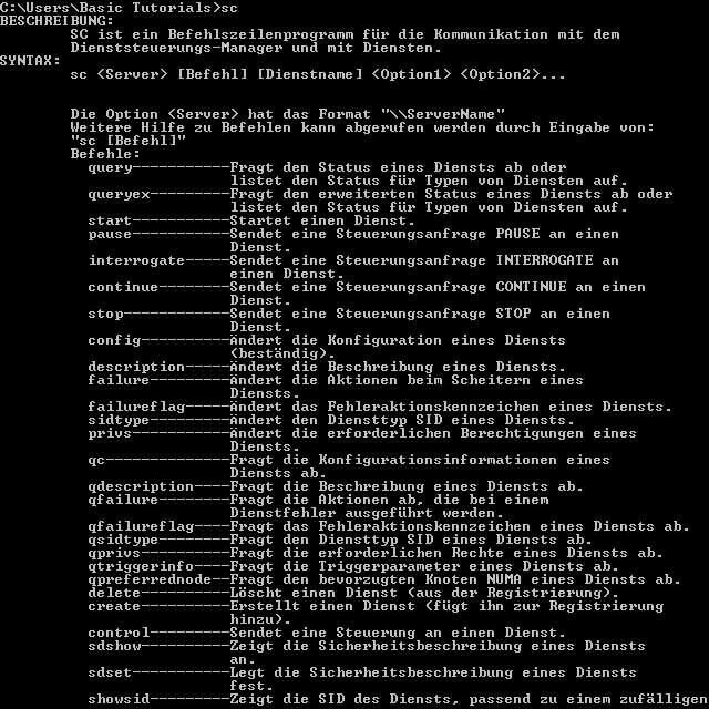 """Photo of Windows Dienste löschen mit Hilfe des """"sc""""-Befehls"""