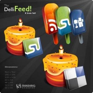 Dellifeed - A Free Icon Set