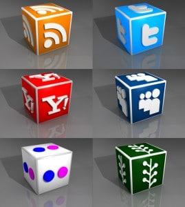 Free AJI 3D social media icon set #1