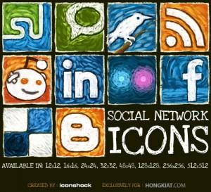 Freebie Social Network Icon Set
