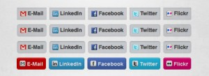 How to Create Social Media Buttons Using CSS3