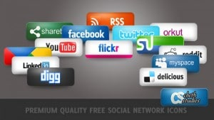 Social Networking Icon Pack