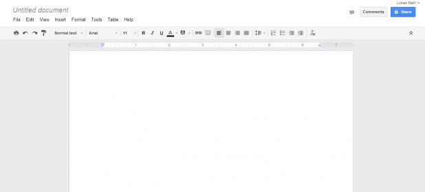 Office-Alternative: Google Drive