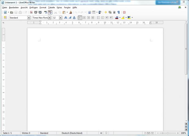 Office-Alternative: Libre Office