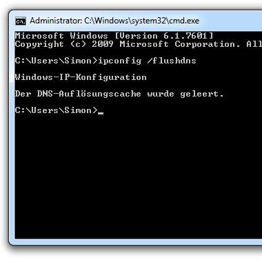 Photo of Windows: Lokalen DNS Cache leeren