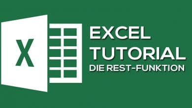 Photo of Die Excel Funktion REST