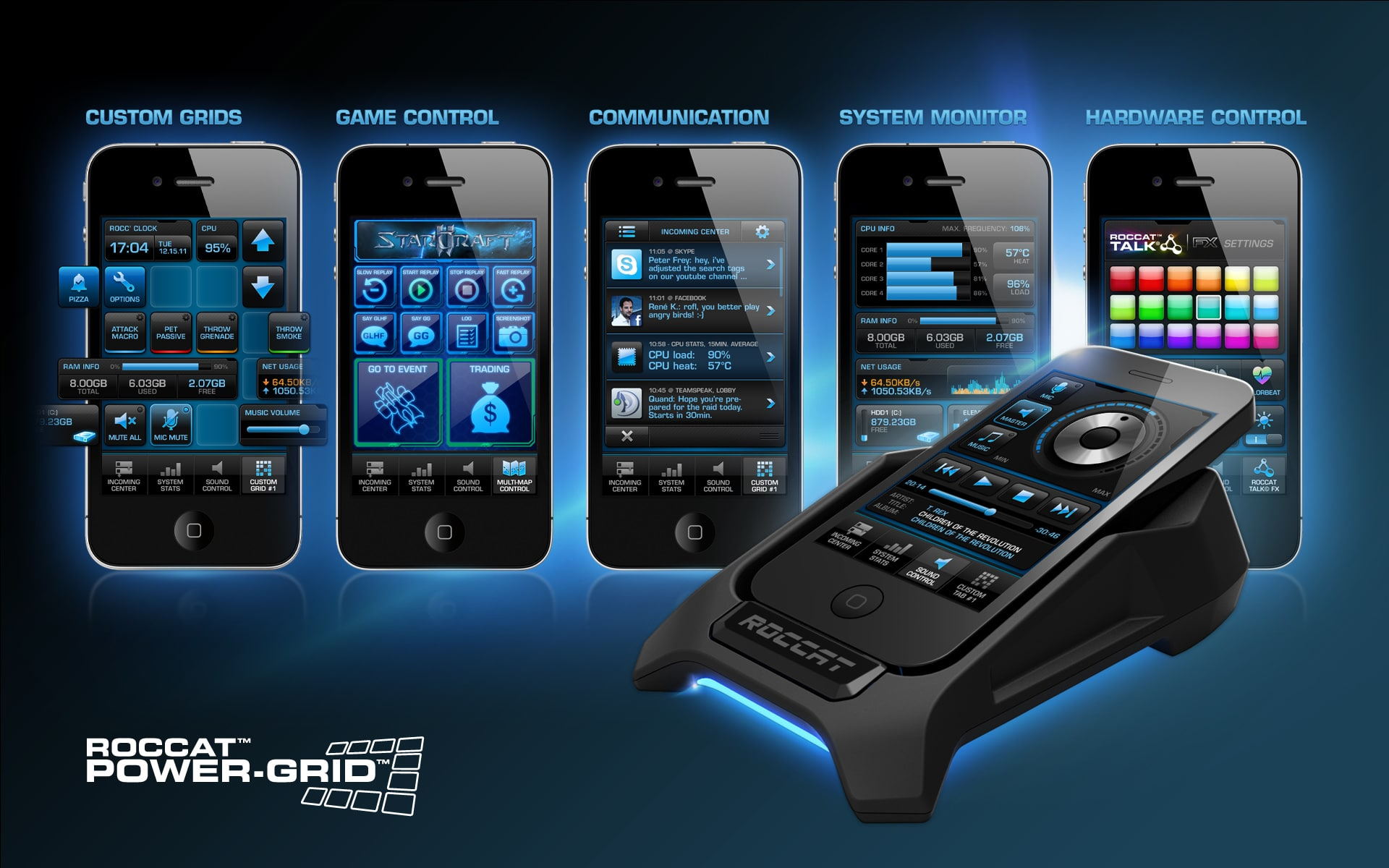 Photo of Roccat Power-Grid: Volle Kontrolle auf dem Smartphone!