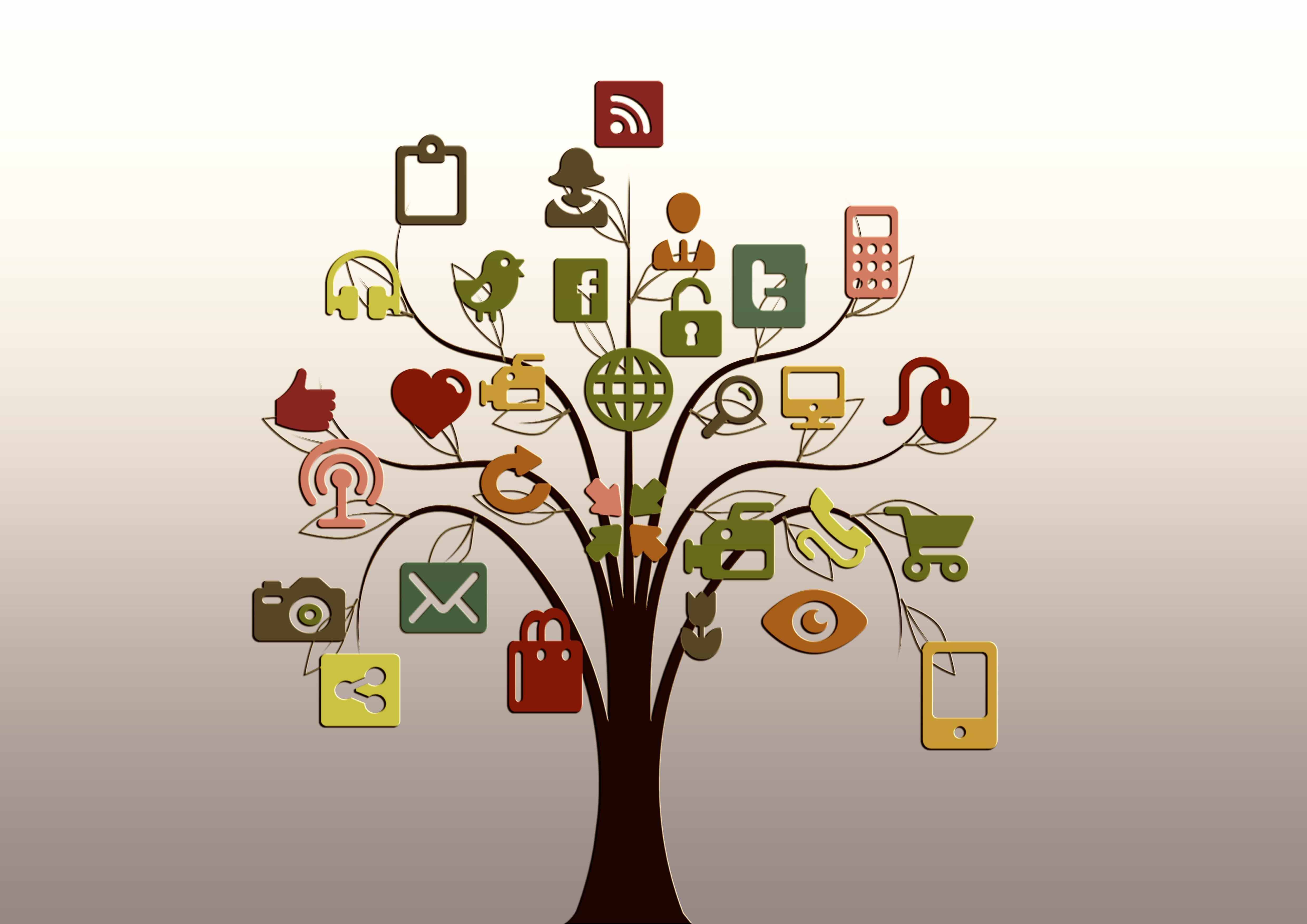 Bild von Vernetzungsmöglichkeiten für Blogger