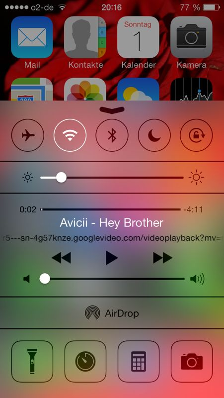 YouTube Videos im Hintergrund mit iOS 7