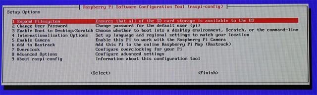 Raspbian-Installation