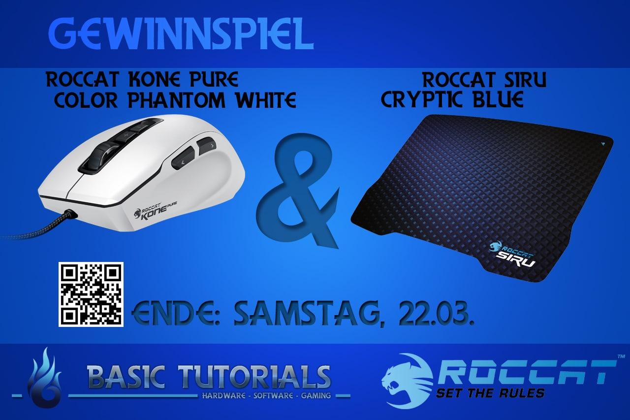 Photo of Gewinnspiel: ROCCAT Kone Pure Color Phantom White & Siru