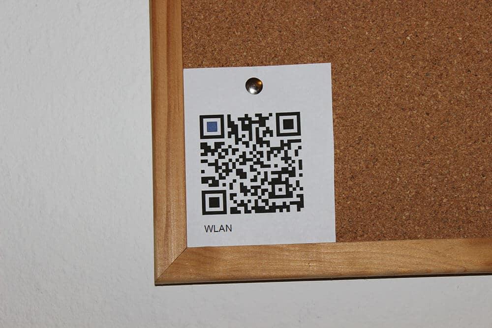 Photo of WLAN per QR-Code zugänglich machen