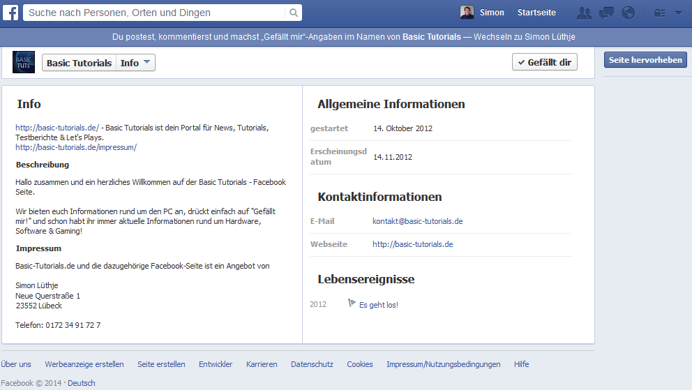 Photo of Facebook bringt Impressumsfunktion für Seiten