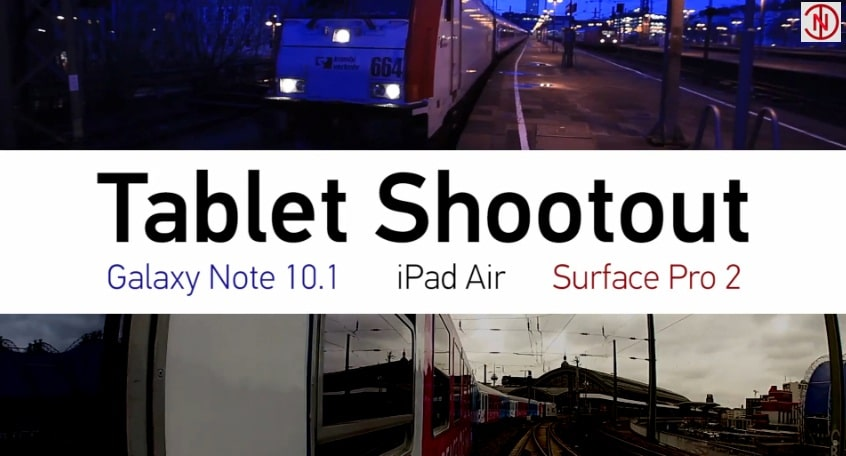 Tablet Shootout - Microsoft Werbung
