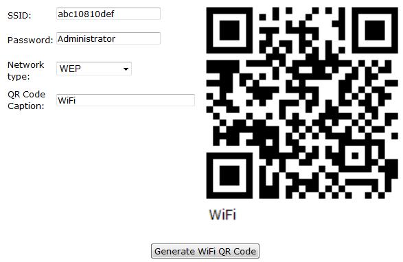 WiFi Access Generator