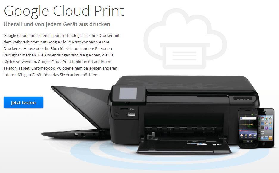 Photo of Google Cloud Print ermöglicht Drucken ohne Grenzen