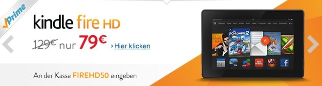 Photo of Amazon Prime-Kunden sparen 50 Euro beim Kindle Fire HD