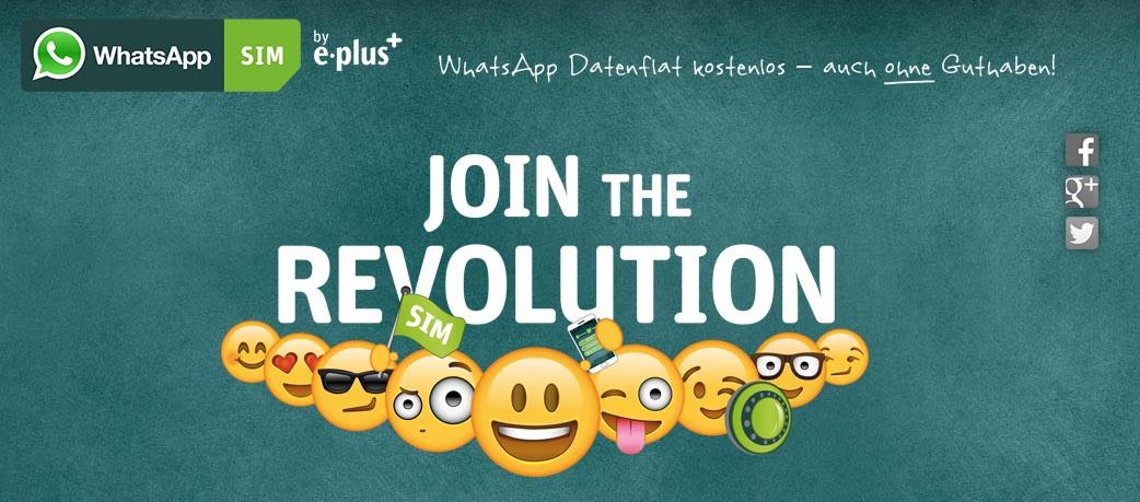Photo of WhatsApp SIM Tarif von E-Plus vorgestellt