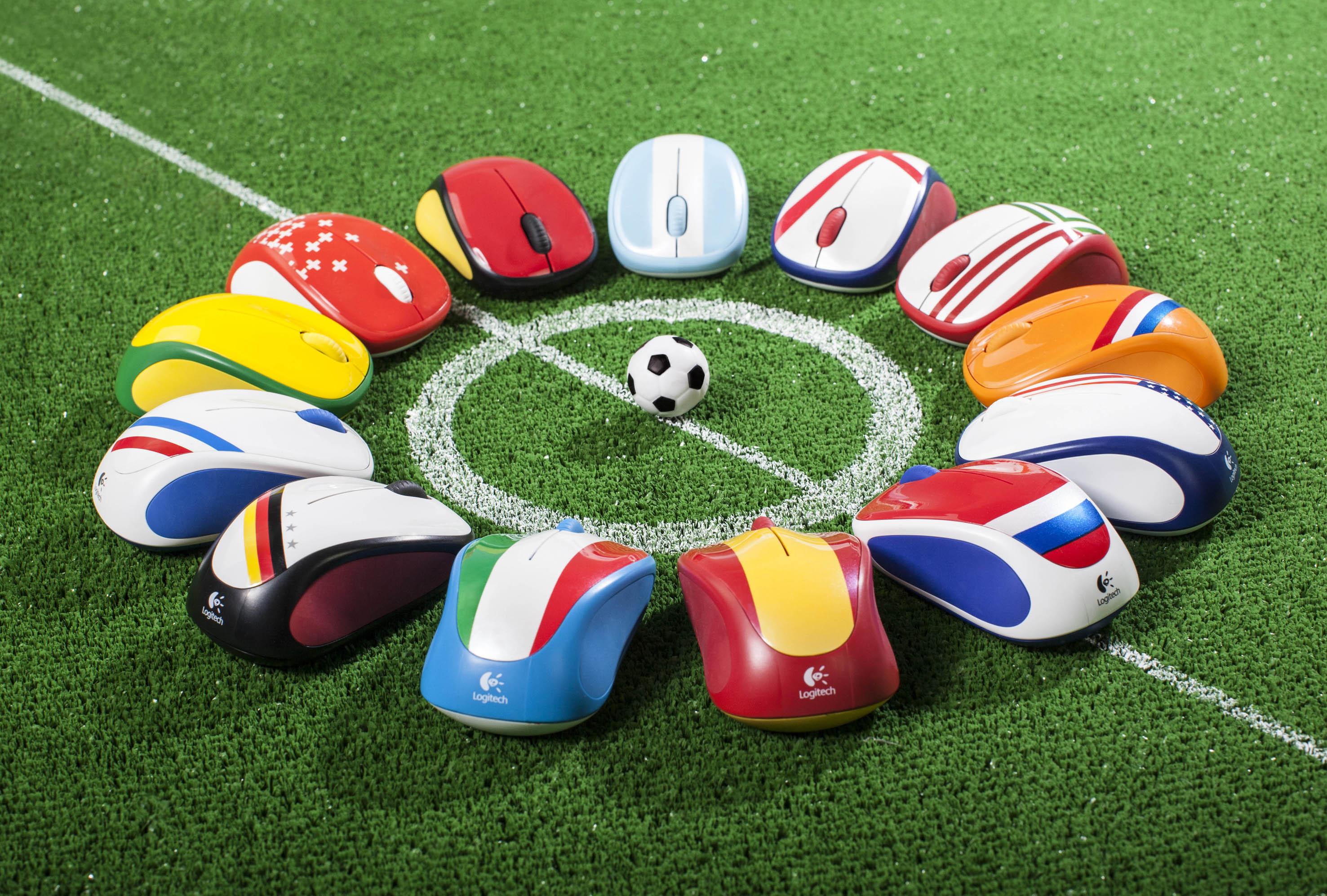 Bild von Logitech bietet Maus als Football Edition passend zur WM