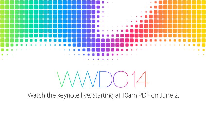 Bild von Apple Keynote auf der WWDC14 (Livestream & Liveticker)