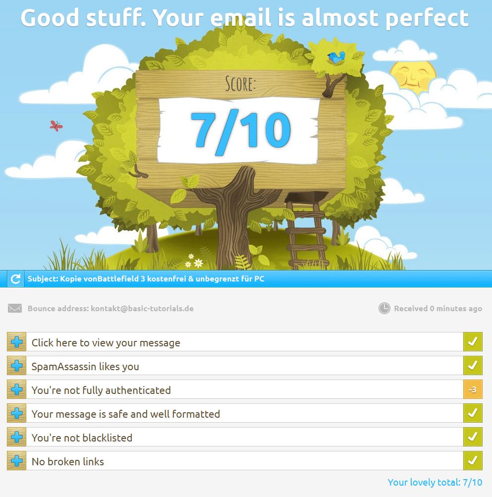 Photo of Der Spamscore – oder wieso deine E-Mail im Spam-Ordner landet