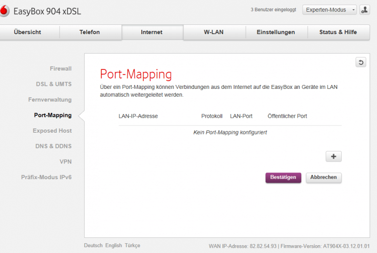 Photo of Portforwarding am Beispiel der Vodafone EasyBox 904