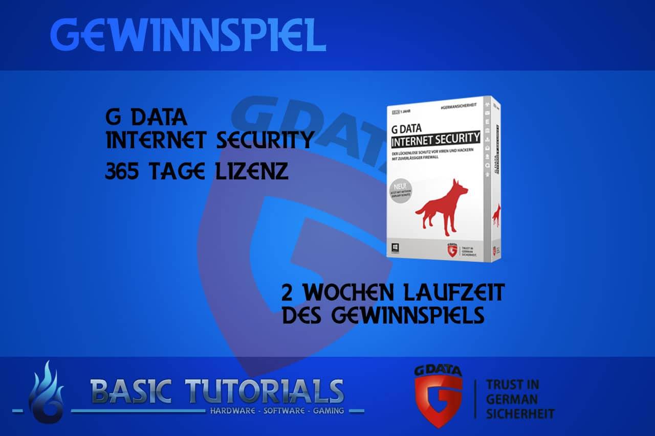 Bild von Gewinnspiel: G Data Internet Security