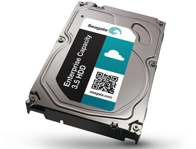 Bild von 8 Terabyte Festplatte von Seagate vorgestellt