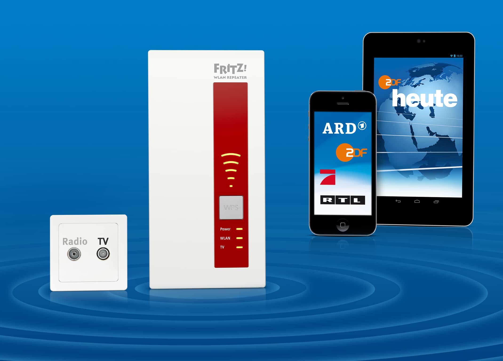 Photo of IFA 2014: FRITZ!WLAN Repeater DVB-C und FRITZ!App TV