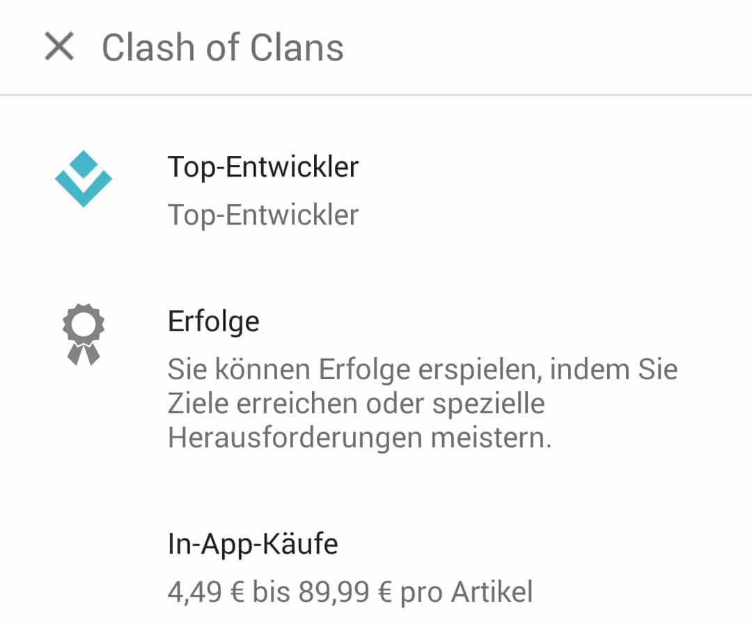 Photo of Google Play Store zeigt Preise von In-App-Käufen bei der Installation an