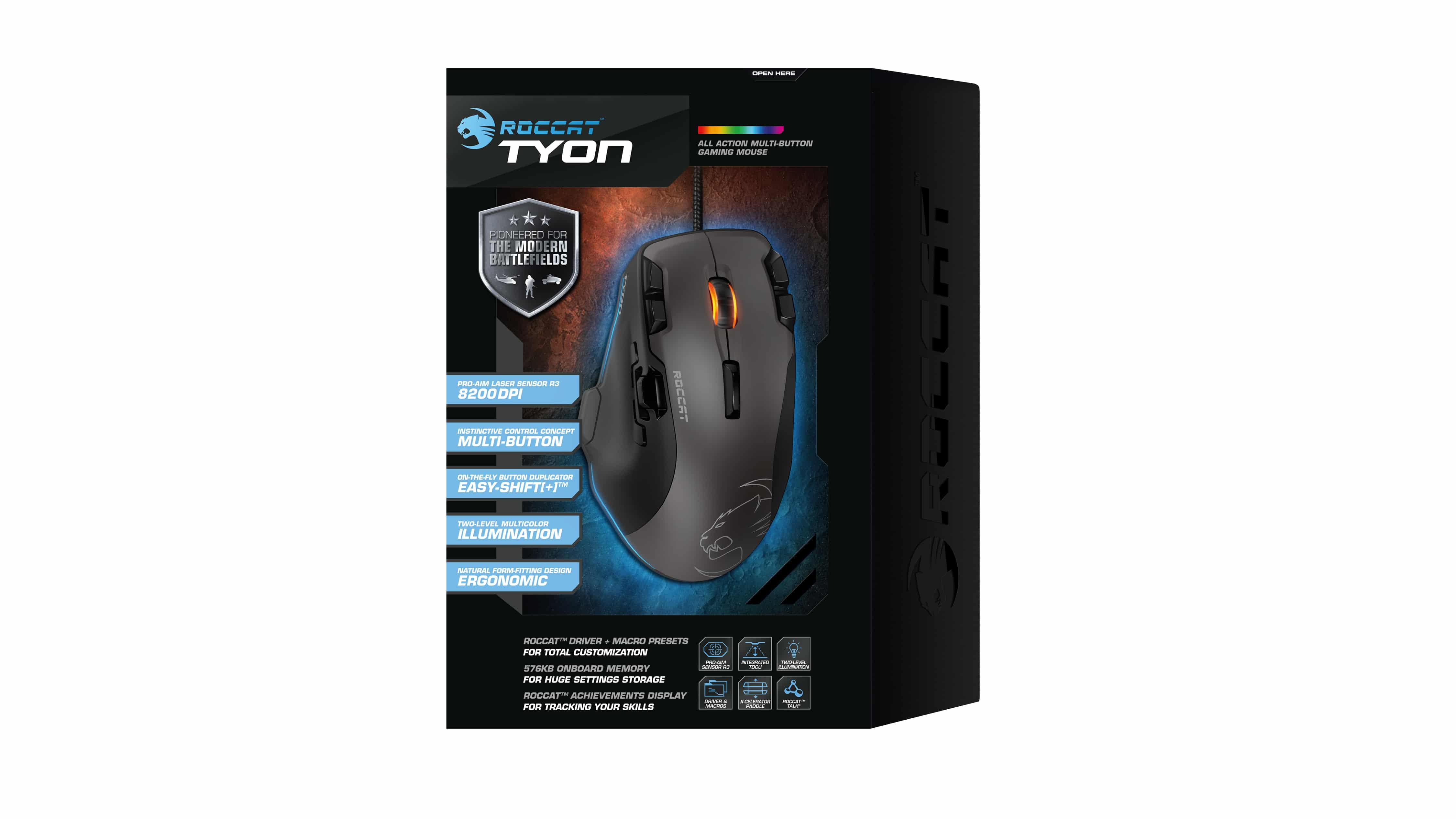 Photo of ROCCAT Tyon: Gaming Maus mit analogem Daumenschalter
