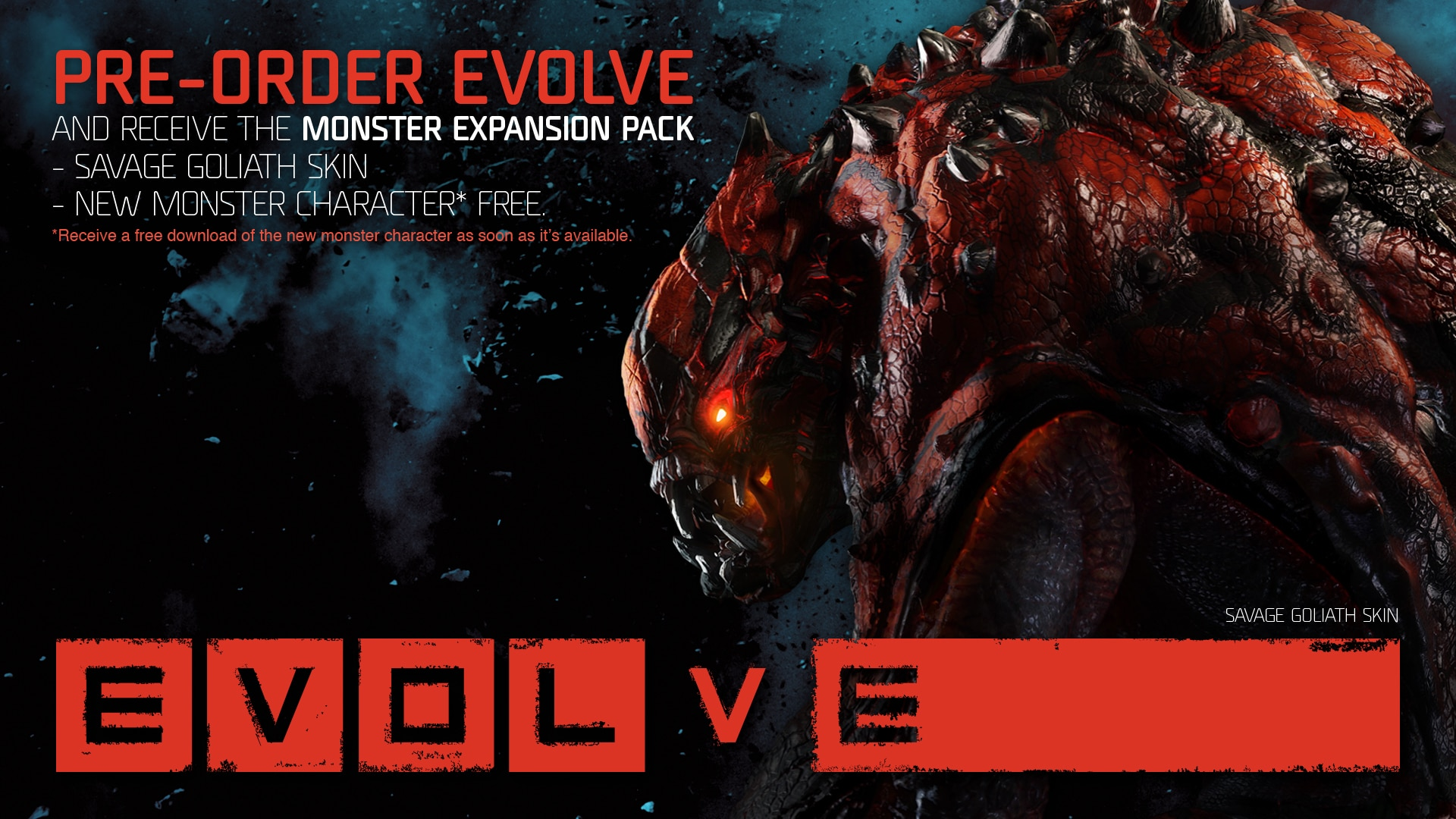"Photo of Evolve ""Big Alpha"" ab dem 30. Oktober 2014"