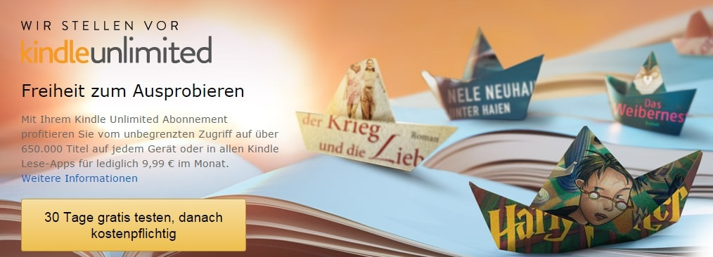 Photo of Amazon Kindle Unlimited: Die Bücher-Flatrate ist da
