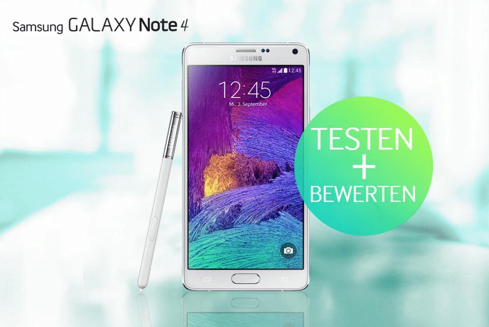 Bild von Samsung Galaxy Note testen, bewerten & behalten