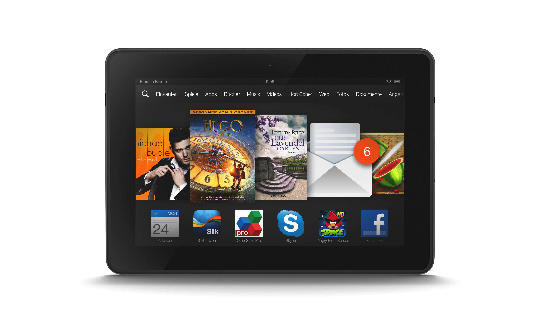 Photo of Nur für kurze Zeit: Amazon Kindle Fire HDX 130€ billiger