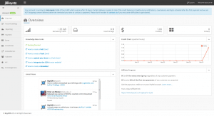 KeyCDN Dashboard 2014- Overview