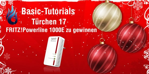 Photo of Basic Tutorials Adventskalender 2014: Tag 17