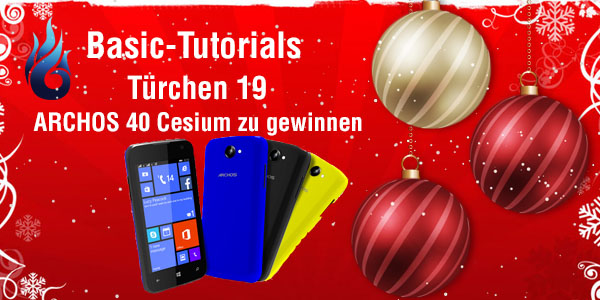 Photo of Basic Tutorials Adventskalender 2014: Tag 19