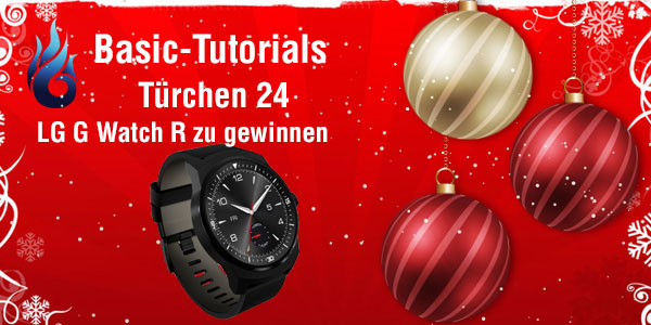 Photo of Basic Tutorials Adventskalender 2014: Tag 24