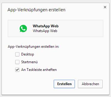 Photo of WhatsApp Web als eigene App auf dem PC