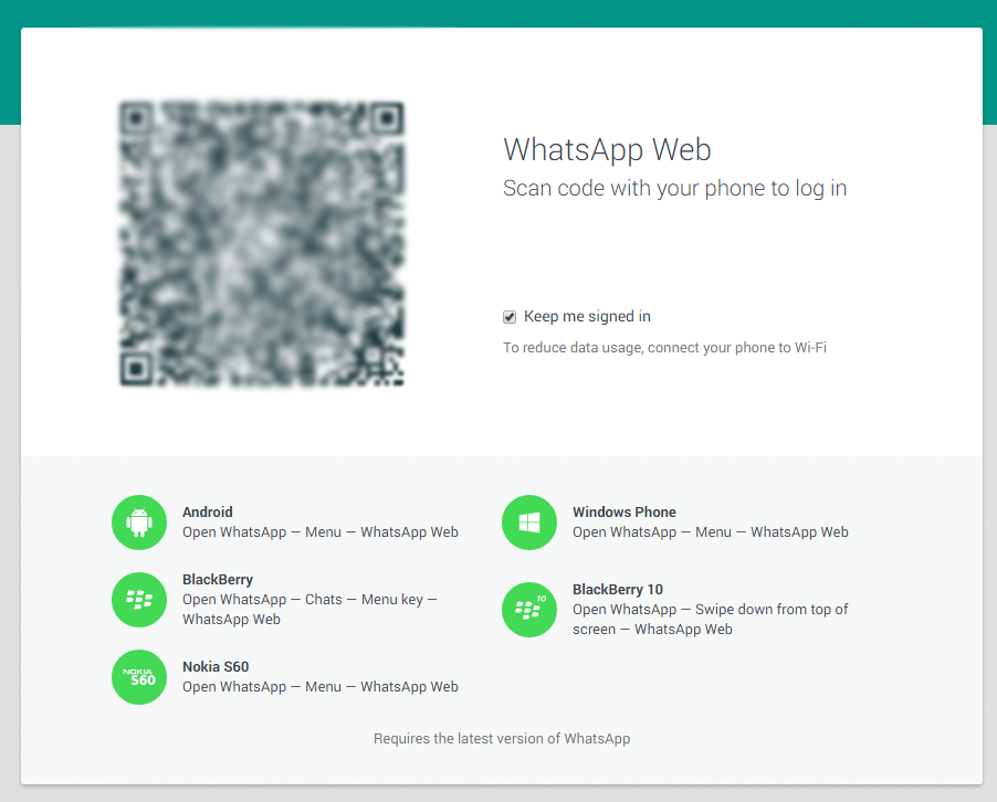 Photo of WhatsApp kommt offiziell in den Browser