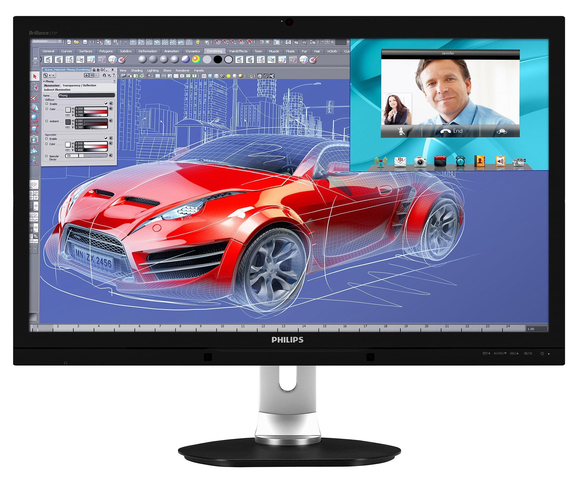 Photo of 27″ Monitor Philips Brilliance 272P4QPJKEB im Test