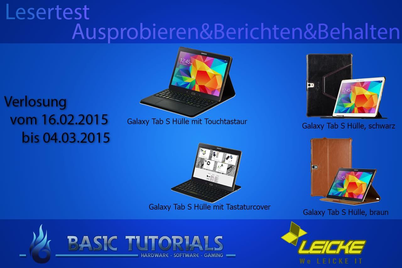 Photo of Ausprobieren, Berichten & Behalten: Samsung Galaxy Tab S 10.5 Zubehör