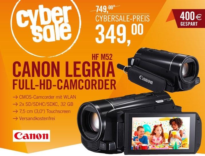 Photo of Cyberport Cybersale mit günstigem HD-Camcorder von Canon