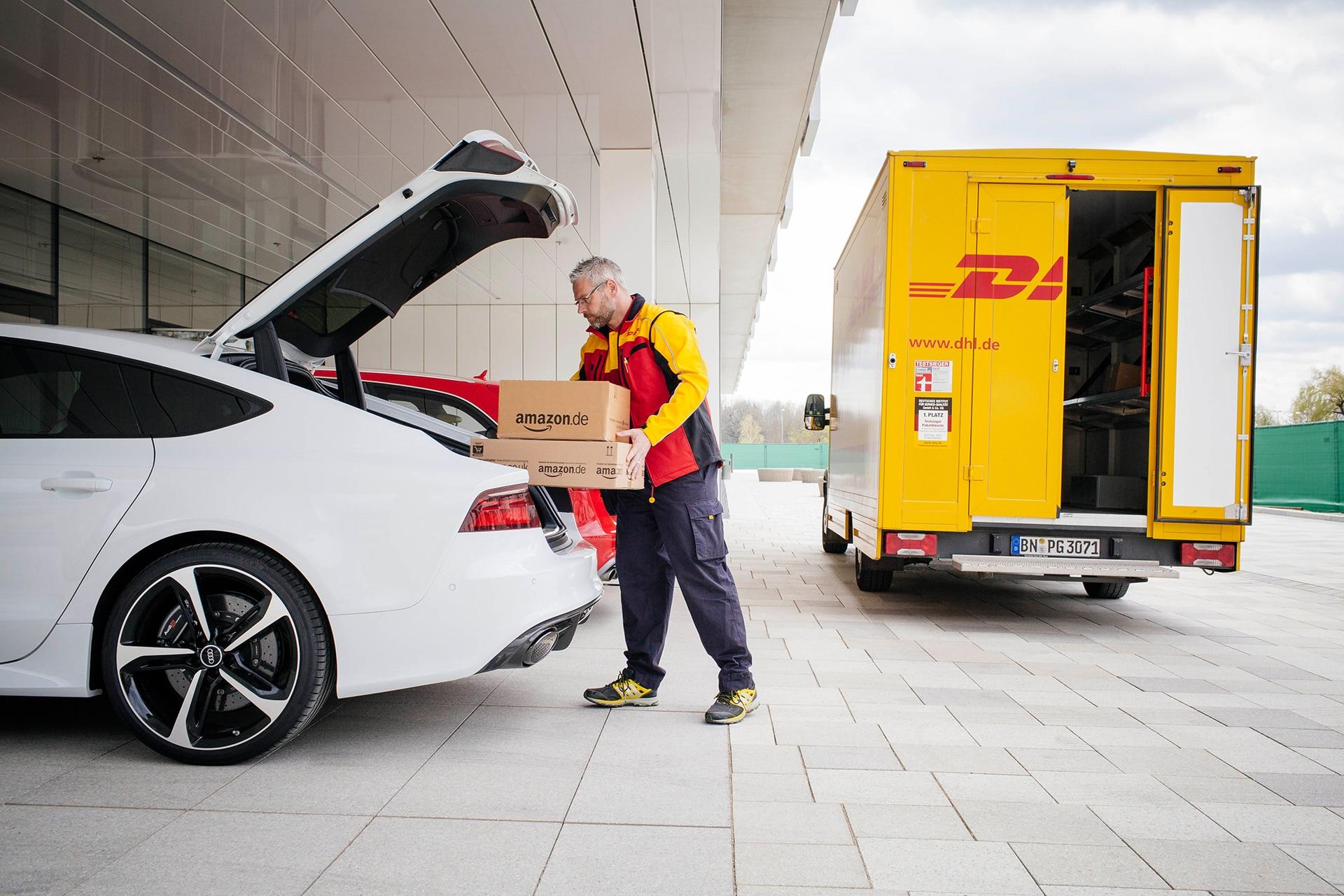 Bild von Amazon, DHL und Audi machen den Kofferraum zum Paketkasten