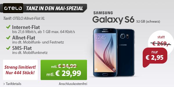 Photo of Neuer Mega-Deal: Samsung Galaxy S6 für nur 2,95 Euro & Hot Deal Update