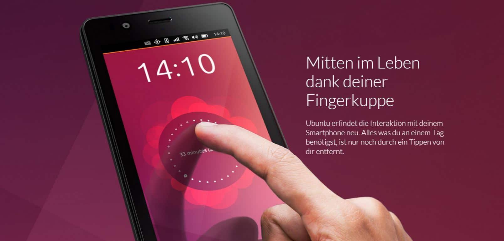Bild von Ubuntu-Smartphone von BQ jetzt erhältlich