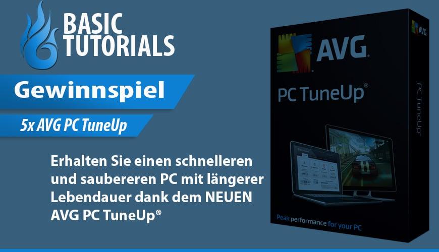 Photo of AVG PC TuneUp 2015 Gewinnspiel