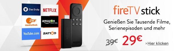 Bild von Amazon's Fire TV Stick um 25 Prozent reduziert