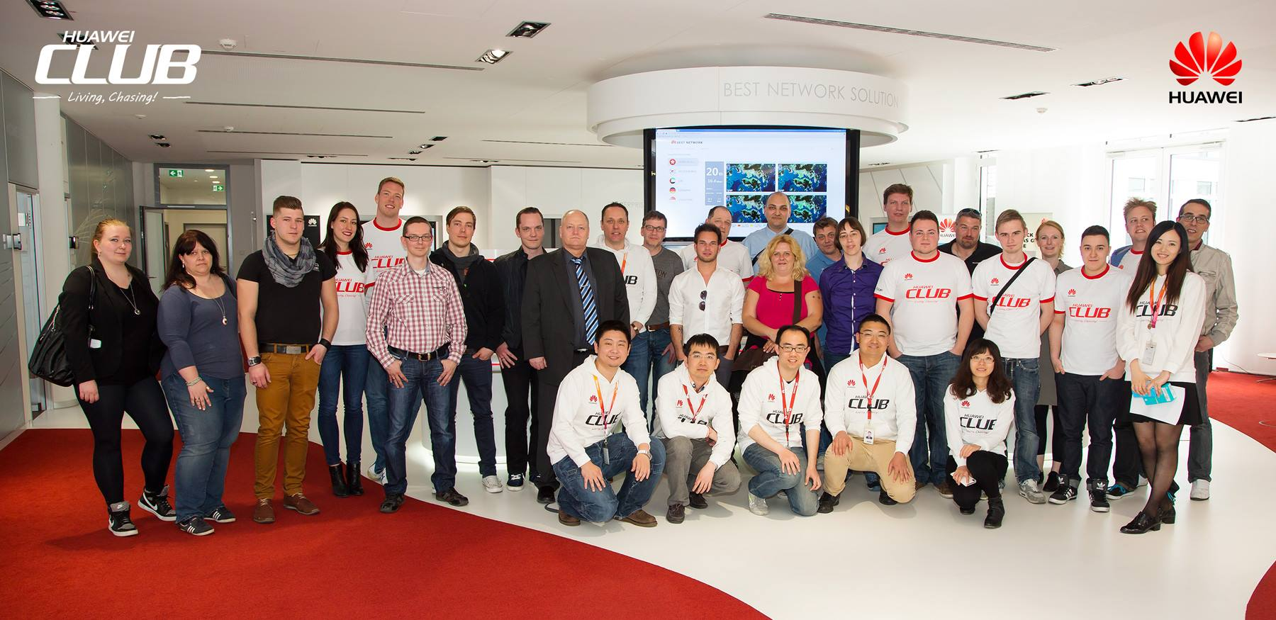 Photo of Huawei P8 Hands-On Event in der Huawei Europazentrale Düsseldorf